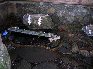神宮寺・井戸