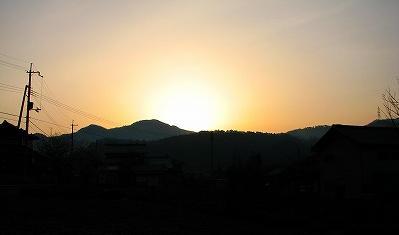 nikichiの夜明け