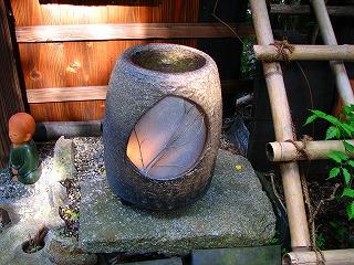 嵯峨野・信楽焼燈籠