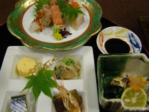 阿波の夕食