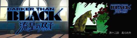 DARKER THAN BLACK 流星の双子 第12話 「星の方舟」 (最終回)