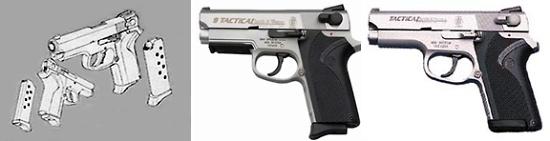 S&W M3913 TSW (Team Smith & Wesson)