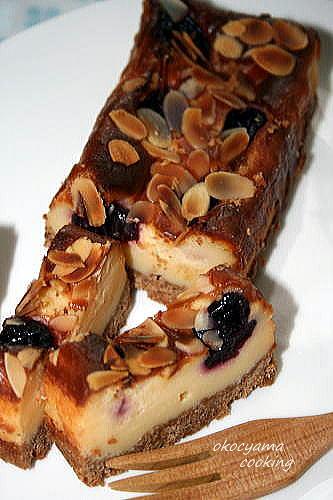 アメリカンチェリーのチーズケーキ (2)