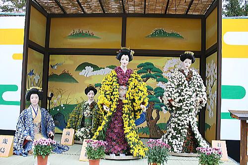 弘前城 菊と紅葉祭り (2)