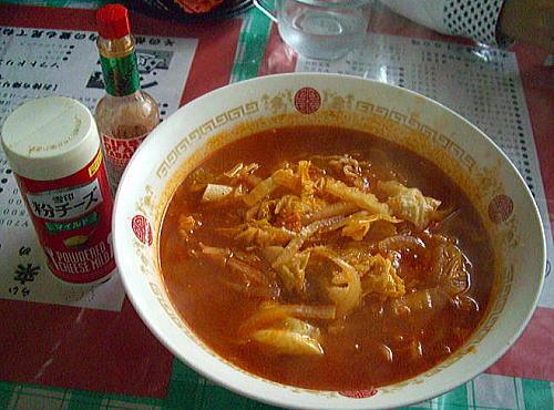 トマトスープラーメン1