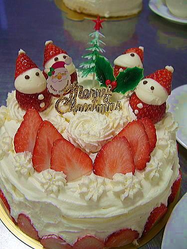 クリスマスケーキ2008 (9)