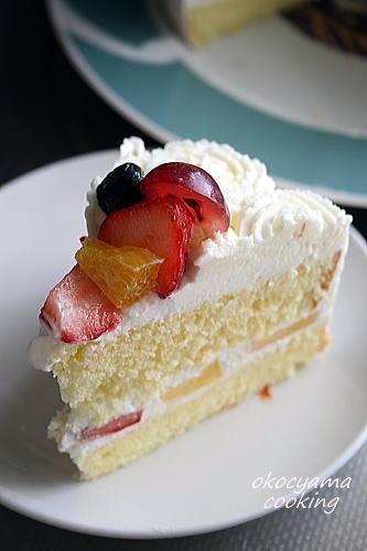 9 初ケーキ