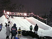127雪灯篭