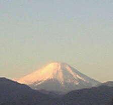 高尾山山頂にて