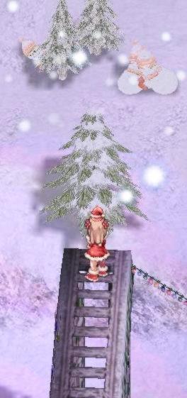 サンタさんはどこに?