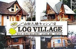 東京 あきる野 山田大橋キャンプ場 ( ログハウス オートキャンプ場 )
