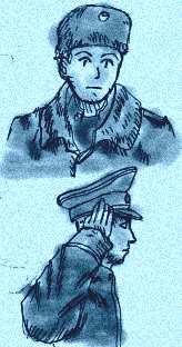 ロシア軍の少年たち