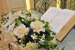 ブーケと聖書 ブライダルフラワー 結婚式