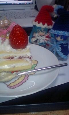 サンタミクカイトケーキ