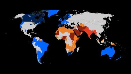 world gay marriage map