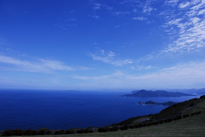 青い海と空と・・・