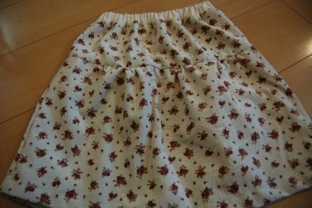 DSC_0153ギャザースカート