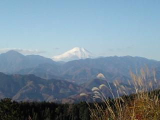 20081201高尾より富士山