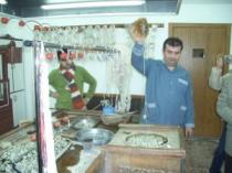 絹糸作りの工程