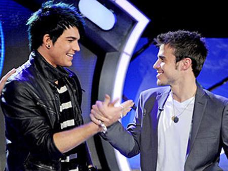 Kris & Adam after the final