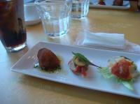 スペイン料理のレストラン