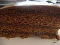 手作りチョコケーキ