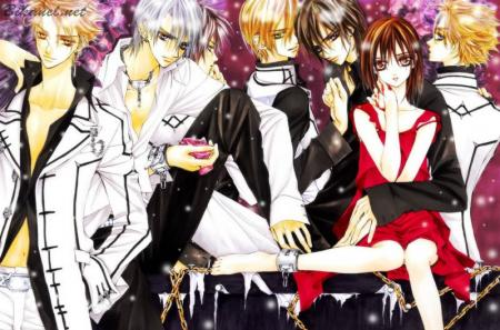 ヴァンパイア騎士 Guilty Vampire Knight Guilty