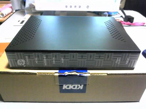 KDDI支給モデム。