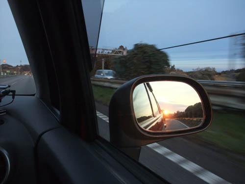 朝~、朝だよ~。 更に走るよ~。