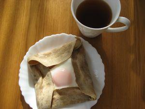 朝ごはん。