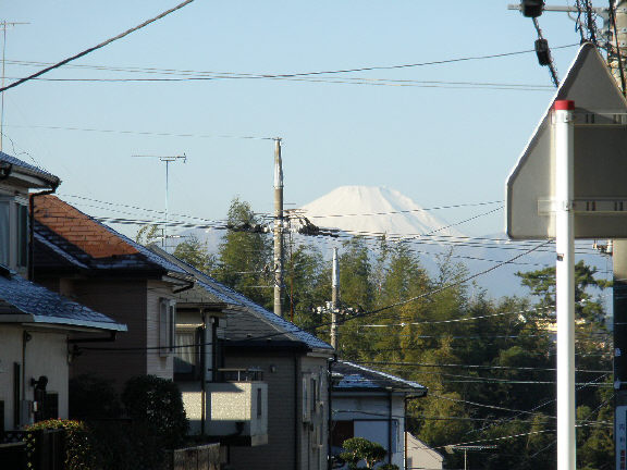 富士山・・・ついに