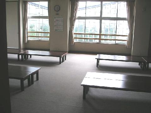 2階、大広間