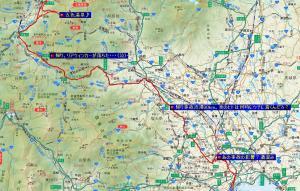 五色温泉♪ルート 往復591km!!!