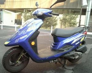 台湾YAMAHA 125ccスクーター