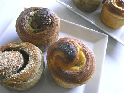 秋のロールパン