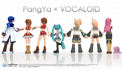 PangYa x VOCALOID
