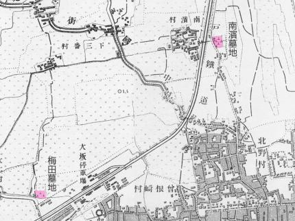 南濱梅田墓地