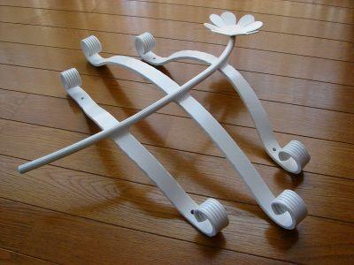 アルミ製妻飾りCタイプ 白塗装