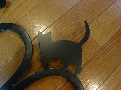 アルミ製妻飾りAタイプ+豚+猫