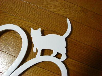 アルミAタイプ+猫妻飾り
