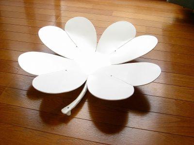 アルミ製妻飾りBタイプの白塗装