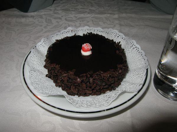 チョコレーとケーキ