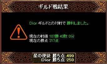 DiorさんとGV