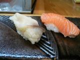 たぶん北寄貝と鮭
