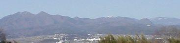 金ヶ岳から金峰まで