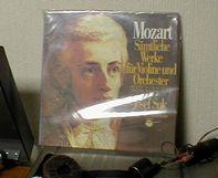 モーツアルトのバイオリン協奏曲