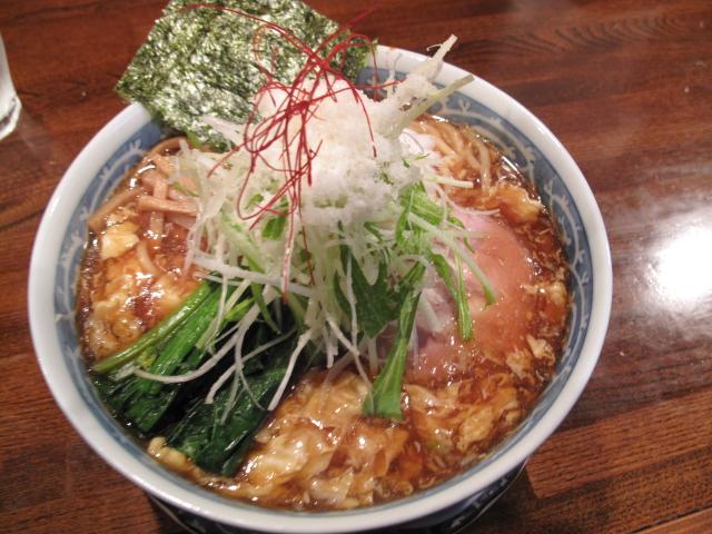 かき玉生姜らぁ~麺