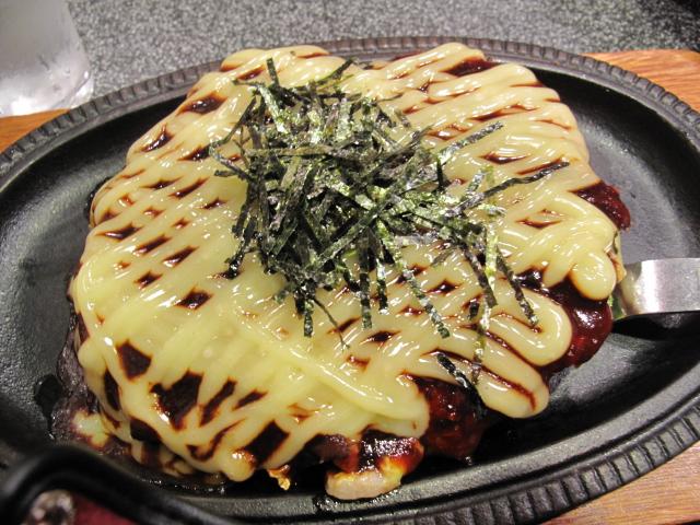 十和田のお好み焼き