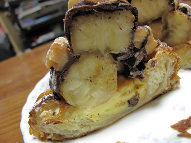 チョコバナナとマカデミアナッツのデニッシュ2