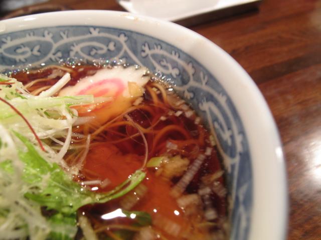 生姜らぁ~めんのスープ